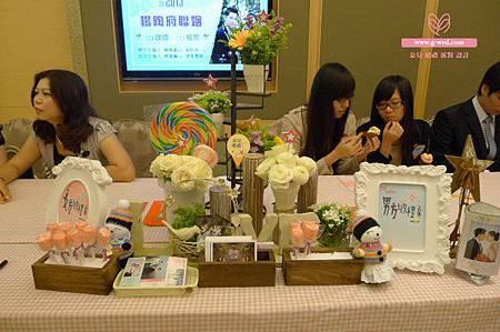 楊陶之戀 婚禮空間設計(收禮桌)-高雄婚顧 朵兒婚禮派對設計