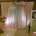 楊陶之戀 婚禮佈置(入口氛圍區2)-高雄婚顧 婚佈 朵兒婚禮派