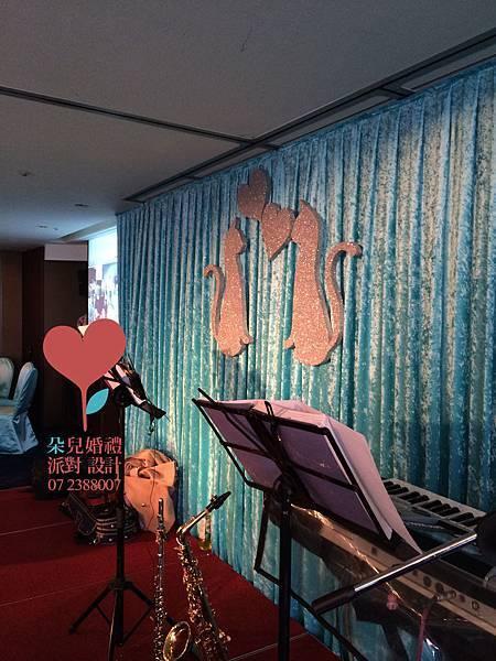高雄婚禮顧問 朵兒婚禮派對設計-貓系列-簡單愛  高雄 瀚品酒店婚禮_4
