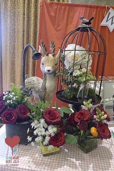 鳳凰宴3-義大皇冠酒店 8F-高雄婚禮顧問 朵兒婚禮 派對 設計