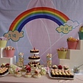 Rainbow-貓貓 鬼鬼主題婚禮 (戶外婚禮 自宅)-高雄婚禮顧問 婚佈 朵兒婚禮 派對 設計3