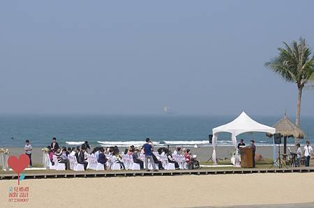 小虹帽與大野郎 (高雄 西子灣沙灘會館)--高雄婚禮顧問公司 朵兒婚禮派對設計 3