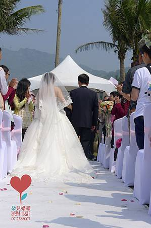 小虹帽與大野郎 (高雄 西子灣沙灘會館)--高雄婚禮顧問公司 朵兒婚禮派對設計 4