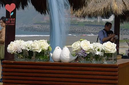 小虹帽與大野郎 (高雄 西子灣沙灘會館)--高雄婚禮顧問公司 朵兒婚禮派對設計 5