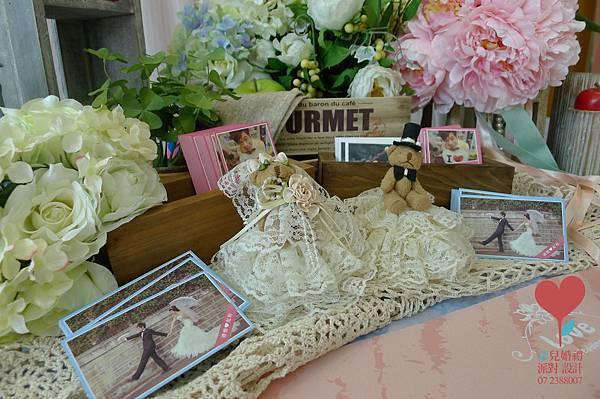 小虹帽與大野郎 (高雄 西子灣沙灘會館)--高雄婚禮顧問 婚佈  朵兒婚禮派對設計 8