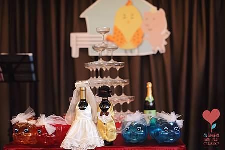 幸福農場(高雄 寒軒和平店2F)--高雄婚禮顧問公司 朵兒婚禮派對設計 12