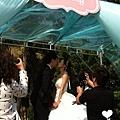 朵兒婚禮派對設計 婚禮顧問 婚禮佈置_20150117西子灣沙灘會館戶外婚禮2