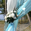 朵兒婚禮派對設計 婚禮顧問 婚禮佈置_20150117西子灣沙灘會館戶外婚禮11