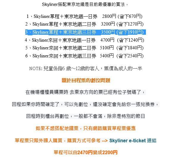 Skyliner 搭配東京地鐵.jpg