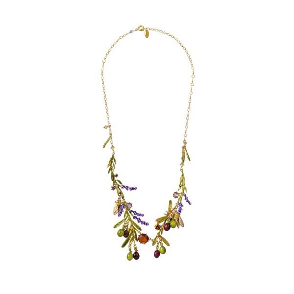 mutli-olives-lavender-cicadas-and-leaves-necklace.jpg