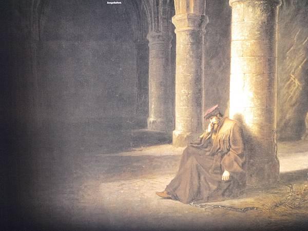 13-地牢在16世紀時囚禁參與日內瓦獨立的伯尼瓦神父,於1530-1536年囚禁在此.JPG