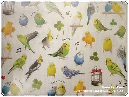日本進口 Mind Wave 貼紙 可愛鸚鵡系列