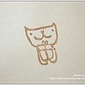 36. Mia老師 小紅書內的圖案-送禮物的小貓
