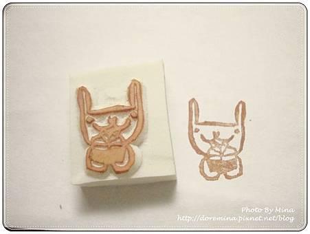 39. Mia老師 小紅書內的圖案-送禮物的小兔子