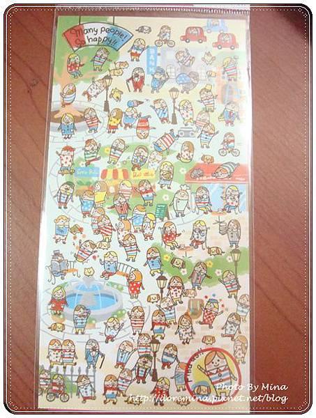 Kamio Japan 貼紙 彩繪快樂人