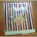 誇張驚喜小禮物:法國風貼紙袋