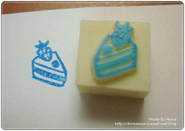 Mina-印章-草莓蛋糕