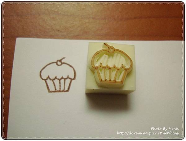 Mina-印章-杯子蛋糕