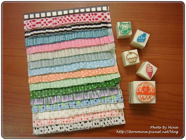 Mina-手作卡片和印章