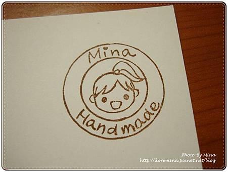 Mina女孩章-Handmade