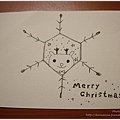 夢夢的手繪聖誕卡片