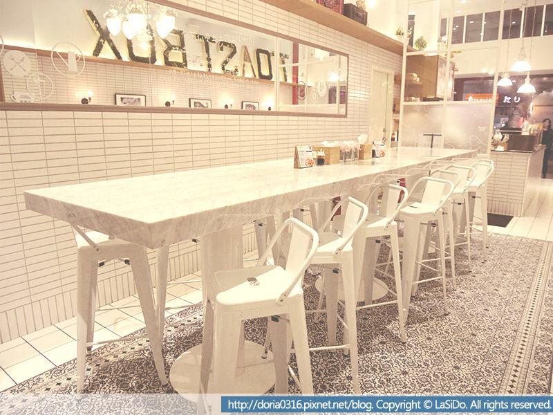 土司工坊-前長桌桌椅