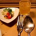 餐前冰梅醋及小菜