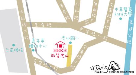 地圖-微笑虎山