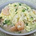 滑蛋蝦仁燴飯