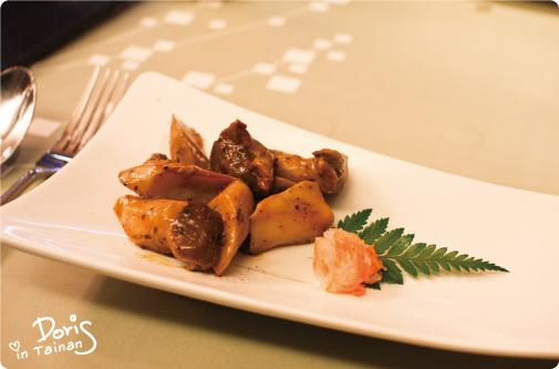 前菜-烤杏鮑菇