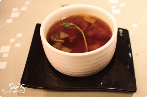 百合牛腩湯