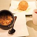 桑甚醋汁+時蔬季節蒸飯