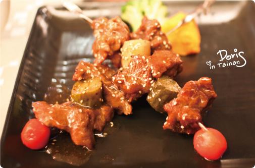 青蔬鮮烤牛肉