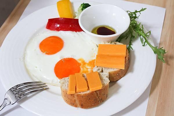 餐-完美早午餐-太陽蛋