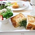 餐-完美早午餐-水果沙拉蛋1