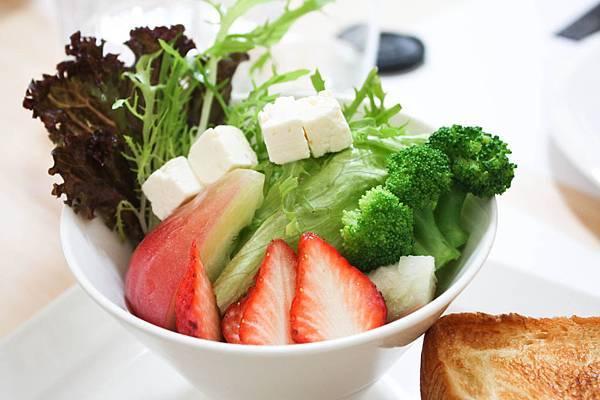 餐-完美早午餐-水果沙拉蛋3