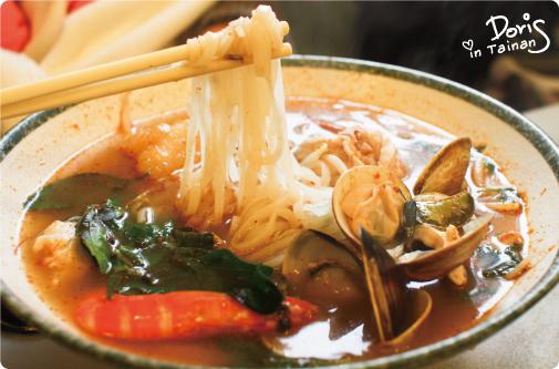 餐-酸辣什錦河粉1