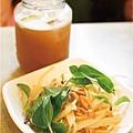餐-酸子汁+木瓜涼拌
