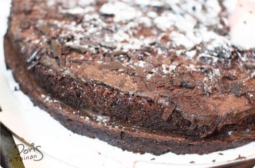 D2惡魔蛋糕-秘戀黑櫻桃巧克力蛋糕1