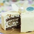 白色艾菲爾蛋糕2