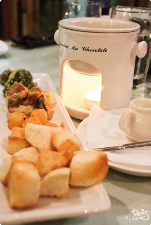 開胃料理-白醬野菇起司鍋