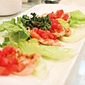 開胃料理-沙嗲豬肉手捲