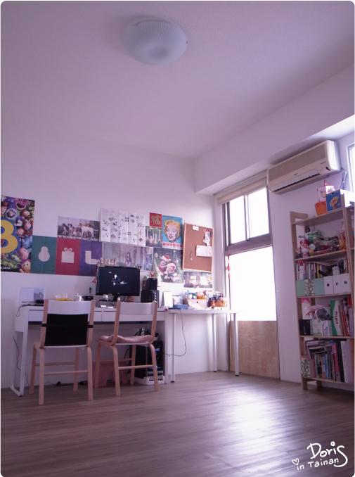改造後-書房