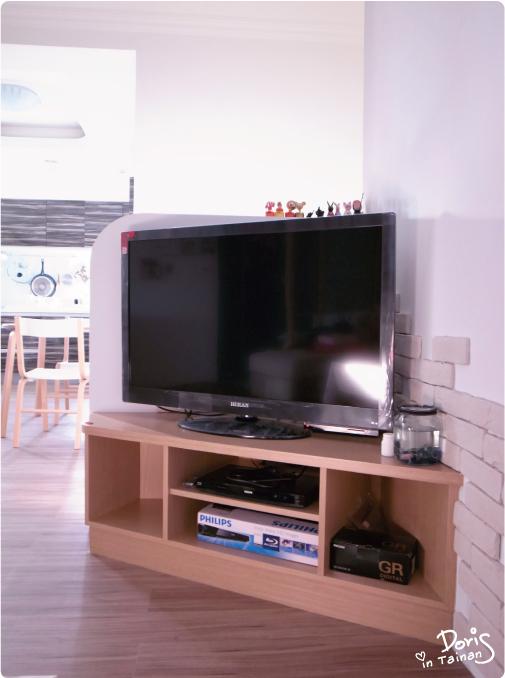 改造後-電視櫃