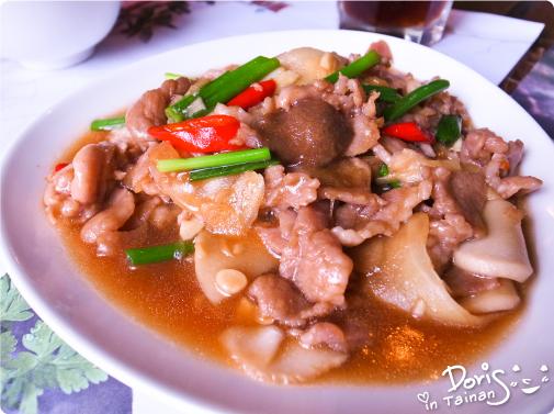 3四季春曉-子薑杏鮑菇豬肉