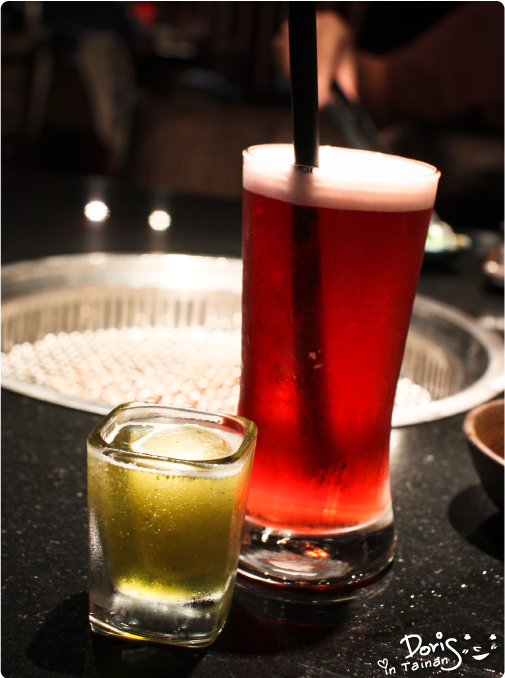 3碳佐麻里-果釀冰醋+藍莓玫瑰花果茶