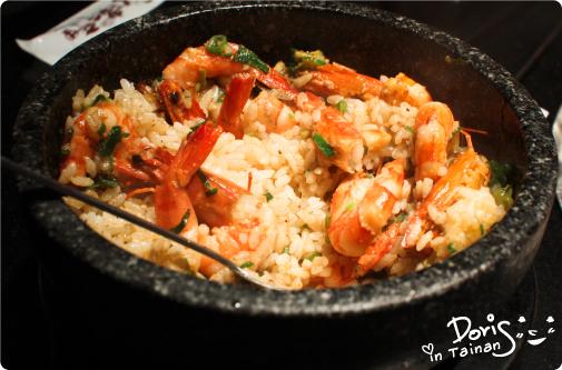 3碳佐麻里-石燒蒜蝦飯