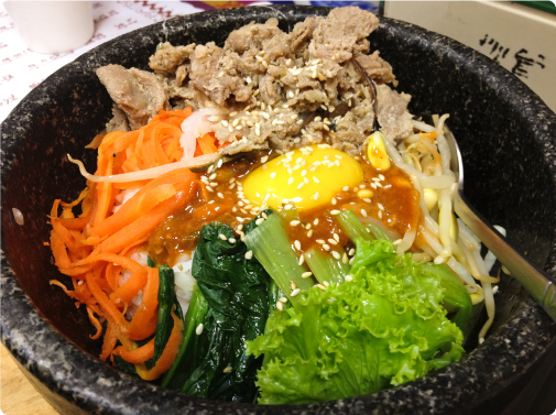 韓式豬肉石鍋拌飯