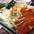 韓國館-烤肉菜盤1