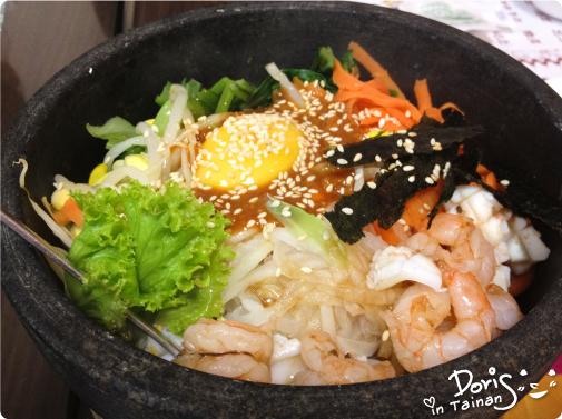 韓式石鍋海鮮拌飯